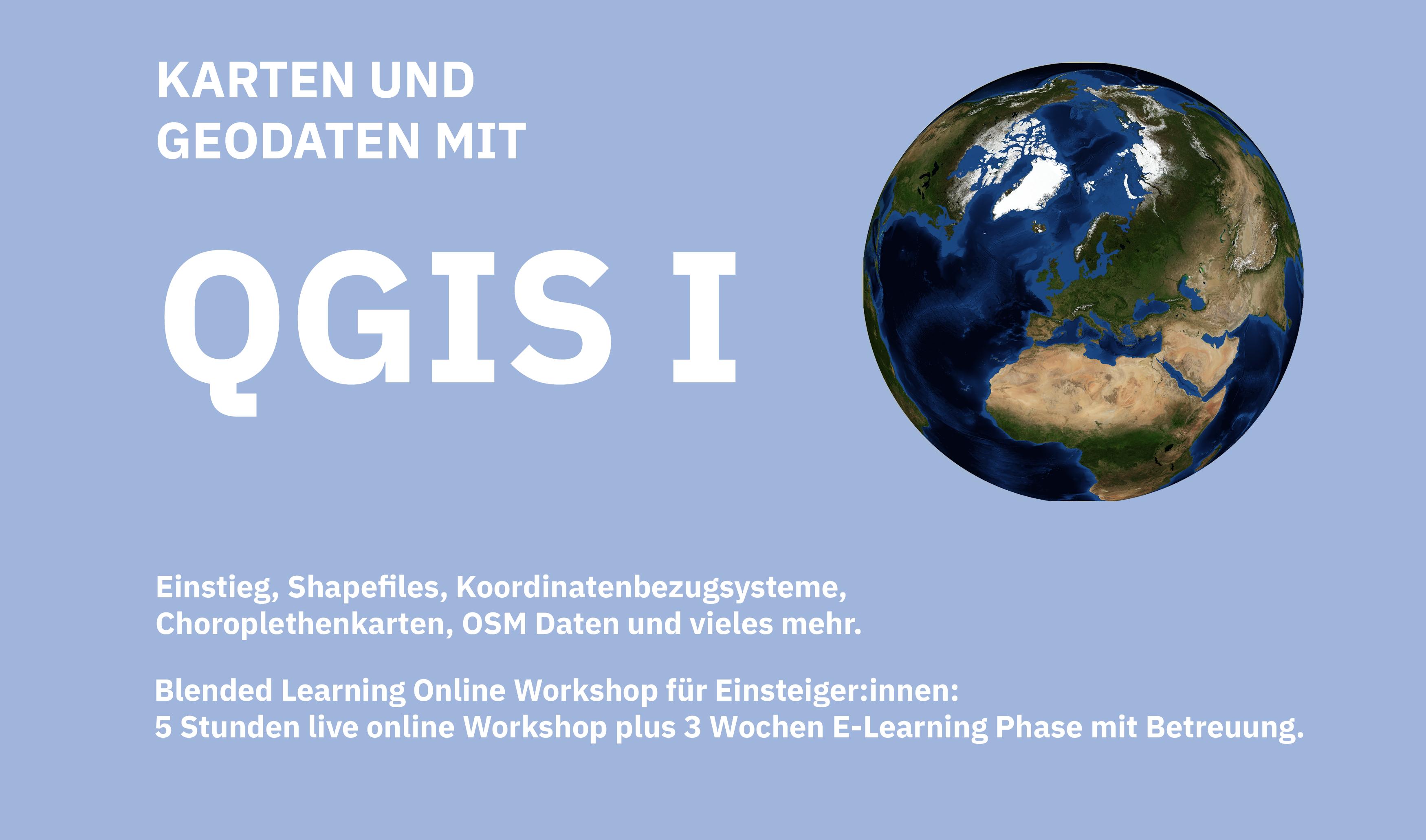 QGIS Workshop für Einsteiger:innen